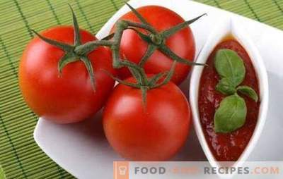 Cooking hot sauce No. 1 - a light tomato for the winter. The most famous recipes for tomatoes for the winter