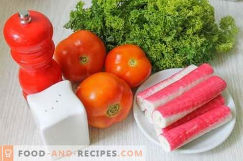 Instant tomato snacks in 15 minutes - beauty, taste and benefits of summer vegetables