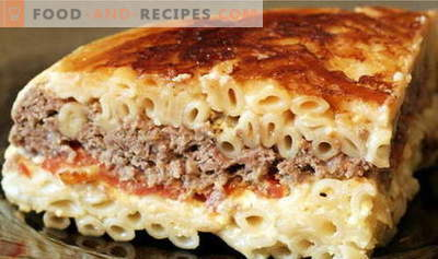 Pasta Casserole - the best recipes. How to properly and tasty cook pasta casserole.