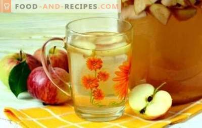 Compote from apples for the winter - we will prepare summer in banks! Recipes of different apple compotes for the winter with and without sterilization