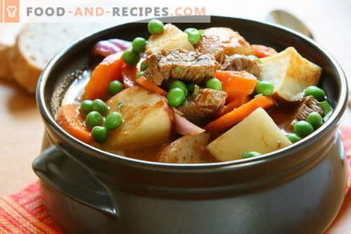 Roast at home - the best recipes. How to properly and tasty cook roast at home.