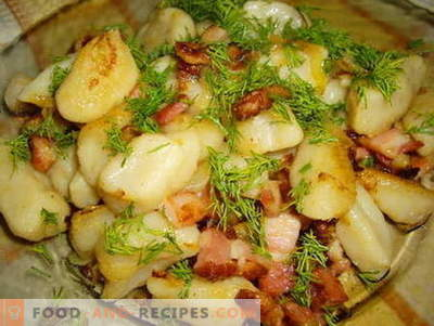 Galushki - the best recipes. How to properly and tasty cooked dumplings.