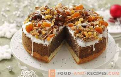 Cake with dried apricots and prunes: recipes and cooking secrets. Cooking a homemade cake with dried apricots and prunes with cream of sour cream