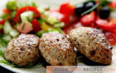 Homemade meat patties - semi-finished products rest! Cooking juicy and fragrant minced meat patties: the best recipes