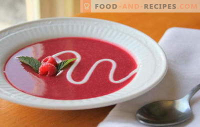 Fruit soup - breakfast, afternoon tea or dessert? The best recipes for great fruit soups: hot and cold