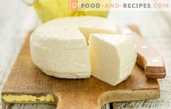 Homemade cheese from milk and kefir is a delicious, tender, and most importantly natural product. Proven and original recipes of homemade cheese from milk and yogurt