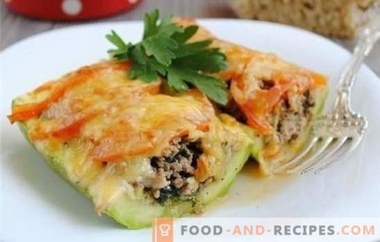 Zucchini with meat in a slow cooker - combining benefit with taste! Recipes of different dishes from zucchini with meat in a slow cooker