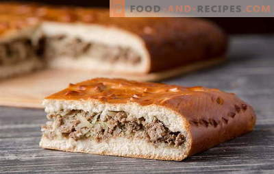 Yeast dough meat pies: detailed recipes. Old traditions and new ideas for pies with yeast dough meat