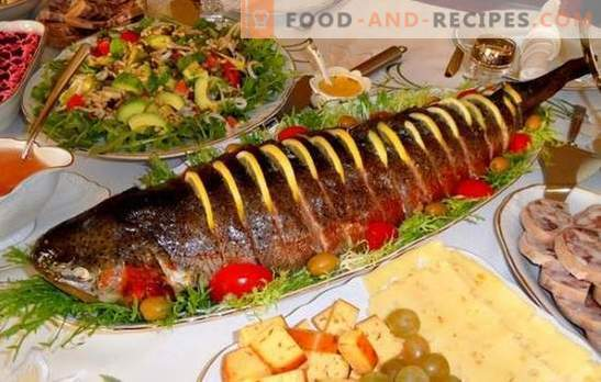 Pink salmon entirely - a festive version of cooking red fish. Recipes for pink salmon whole baked with cheese, potatoes