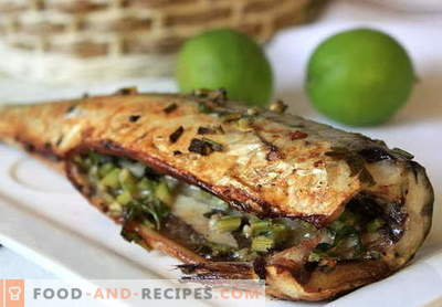 Mackerel in the oven - the best recipes. How to cook mackerel in foil baked in the oven.