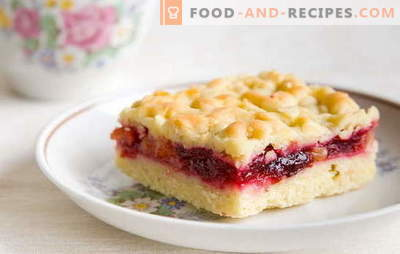Sand Cake with Jam: sweets from the pantry. Grandma's Secrets of Shortbread Jam Pies