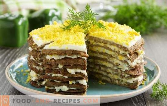 Beef liver cake will surprise even gourmets with its unique taste. A variety of recipes from beef liver
