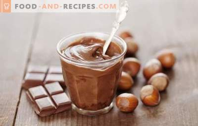 Homemade chocolate cream. Exquisite dessert and decoration for homemade cake: a variety of recipes for chocolate cream