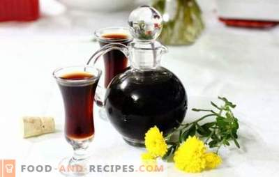 Tuna tincture: the main principles of manufacture. How to make a black tincture at home - recipes with taste