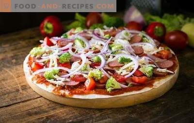 Pizza in 5 minutes: a recipe for those in a hurry. Cooking pizza in 5 minutes: from products that are always on hand and in the fridge