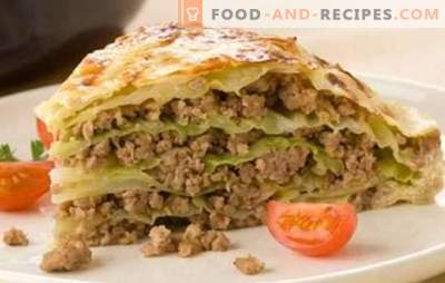 Cabbage with minced meat in a slow cooker - a hearty dinner with a bang! Recipes for stewed cabbage in a slow cooker: cabbage rolls, lasagna, stews