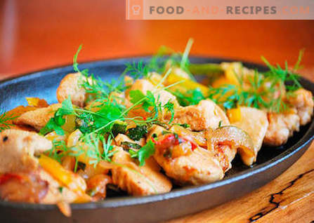 Chicken fillet - the best recipes. How to properly and tasty cook chicken fillet.