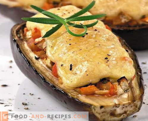 Eggplant with cheese - the best recipes. How to properly and tasty cook eggplant with cheese.