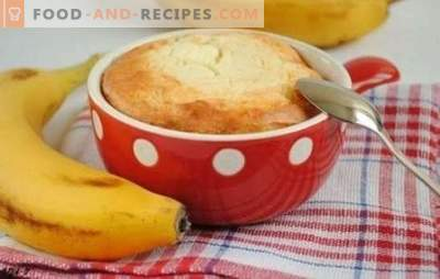 Cheesecake casserole with banana - fruit fantasy. Cooking a Delicious Cottage Cheese Casserole with a Banana: Recipes and Good Tips