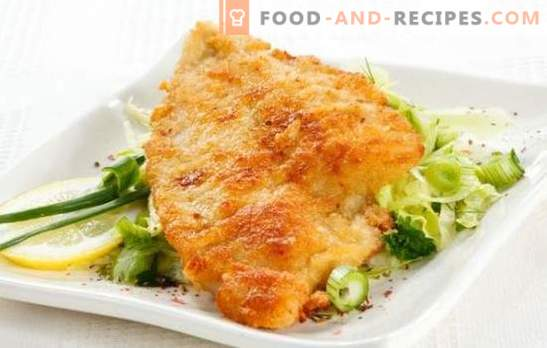 Tilapia in batter is a delicate fish in a crispy crust. A selection of the best recipes tilapia in batter: beer, cheese, egg