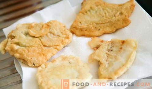 Fish in batter - the best recipes. How to properly and tasty cook fish in batter.
