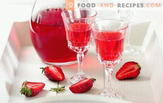 Strawberry liqueur at home - apart from the competition! All the subtleties and recipes for making strawberry liqueur at home