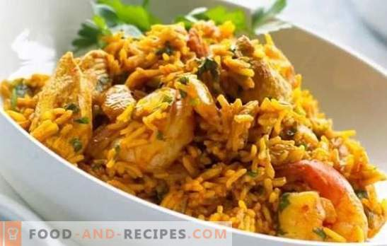 Chicken Pilaf: A step-by-step recipe for a popular Uzbek dish. Recipes pilaf with chicken, vegetables and dried fruits