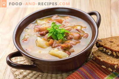 Pork soup - the best recipes. How to properly and tasty cook pork soup.