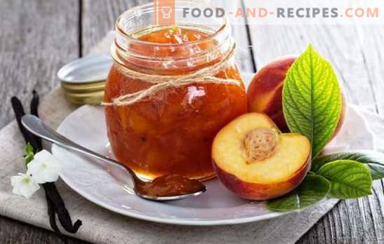 Nectarine preserves - the aromatic taste of summer. Recipes for making nectarine jam: traditional, with coffee, vanilla, cinnamon