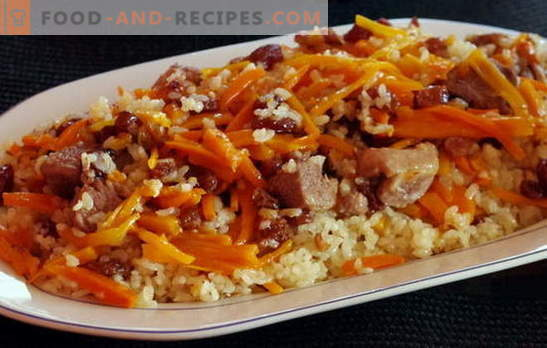 Pork pilaf in a multicooker at home. Adapted recipes pilaf pork in a slow cooker for fast cooking