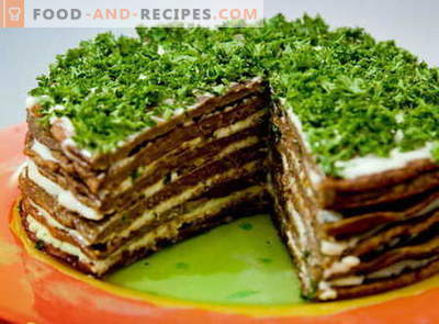 Liver cake - the best recipes. How to properly and cook liver cake.