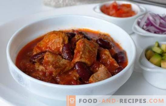 Stews, rolls and national dishes of stewed pork in a slow cooker. Is it like - stewed pork in a slow cooker?