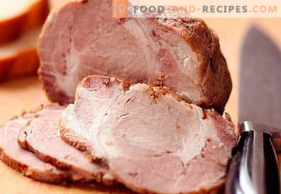 Baked ham in the sleeve - the best recipes. How to properly and tasty cook ham in the sleeve at home.