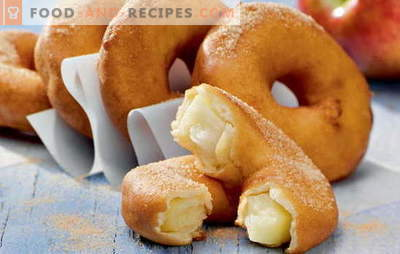 Donuts at home - puffy rings! Recipes for homemade donuts with yeast, kefir, cottage cheese, condensed milk, and stuffed