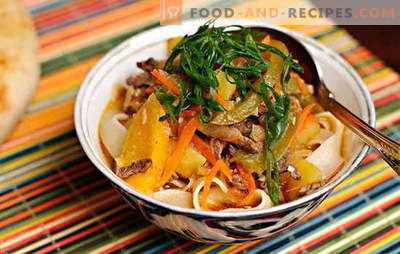 How to cook lagman at home? Easy! Classic and simplified recipes for making lagman at home