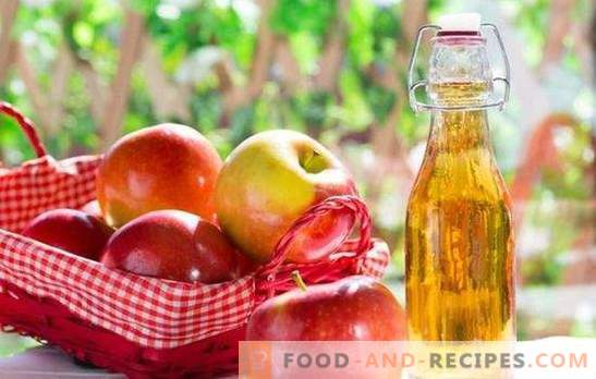 Amber tincture of apples at home. The best recipes for tincture of apples at home and cooking tricks
