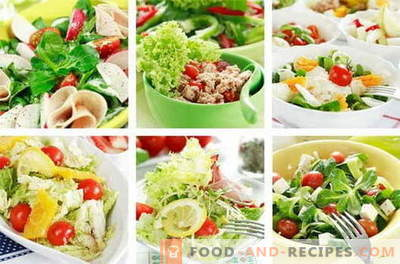 Chicken salads are the best recipes. How to cook chicken salads.