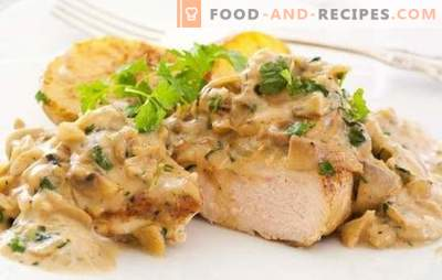 Turkey Mushroom Turkey: It's worth a try! Original and simple recipes for cooking turkey with mushrooms in the oven, on the stove, in a slow cooker and pots