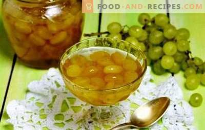 Fill the pantry - grape jam with pits. Enrich your recipes with grape jam and pits