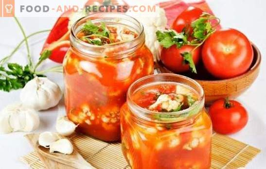 Tomato salad for the winter with sterilization: easy! Recipes of different salads from tomatoes for the winter (with sterilization)