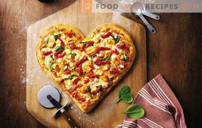 Mayonnaise pizza is a favorite dish without hassle. A selection of recipes for pizza dough in mayonnaise