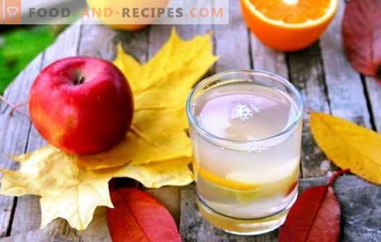 Compote of apples and oranges - a delicious drink with hints of exotic. A selection of the best compotes of apples and oranges