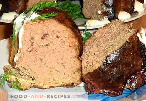A liver souffle is the best recipe. How to quickly and tasty cook souffle from the liver.