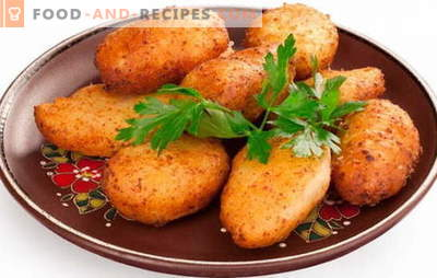 Pozharsky cutlets - a royal dish! Recipes for firefighters cutlets: classic, with bread crumbs, mushrooms, cheese, pork and veal