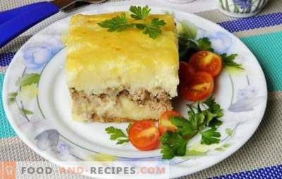 Children's potato casserole with minced meat in the oven - diversifies the diet! The best recipes for children's potato casseroles