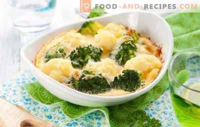 Cauliflower gratin is a casserole with a crust! Recipes for amazing cauliflower gratin with various additions
