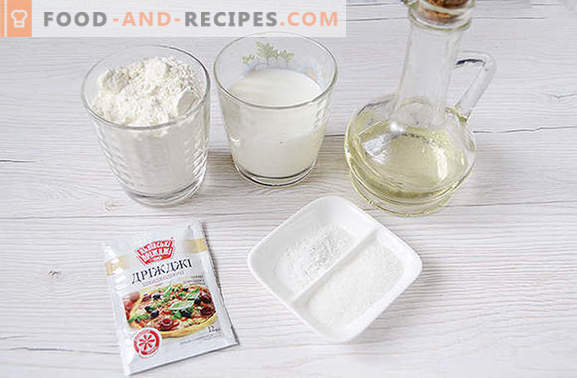 Yeast donuts with milk: we will make our pets happy! Step by step author's photo recipe for donuts with yeast on milk - all in detail