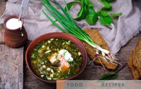 Russian okroshka is an old soup! Recipes of traditional Russian okroshka on kvass, whey, broth, yogurt