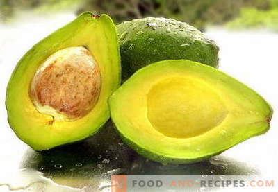Avocados - useful properties, use in cooking. Recipes with avocado.
