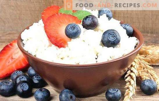 Cottage cheese from sour milk is a natural product with your own hands. Methods of cooking homemade cottage cheese from sour milk
